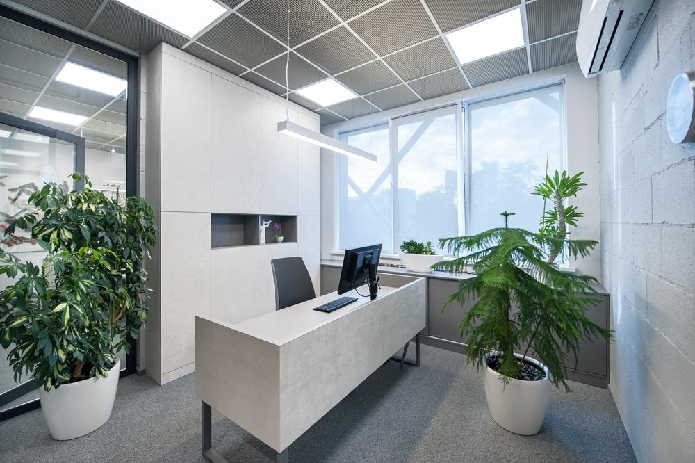 Ledpanelen kantoor